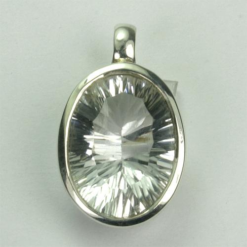 AN94 Bergkristall 10x14 mm concav