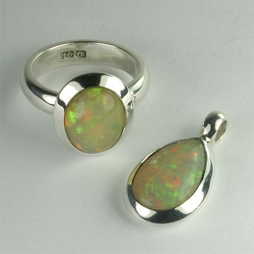 Set äthiopischer Opal L