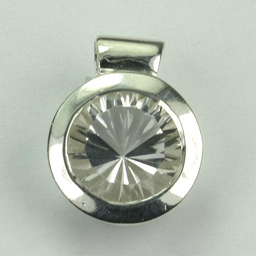 AN78 Bergkristall 9 mm concav