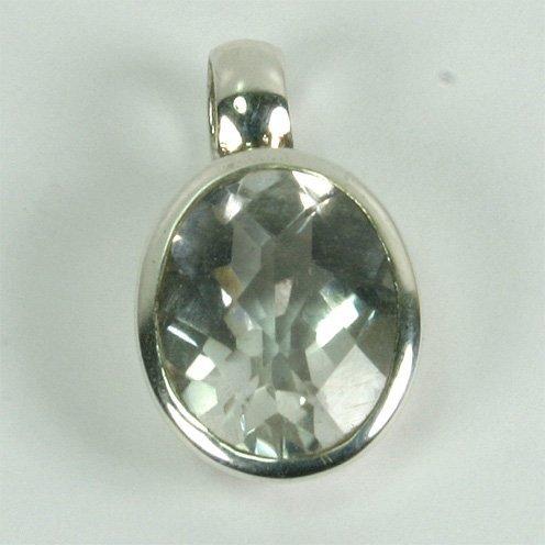 AN95 Bergkristall 8x10 mm