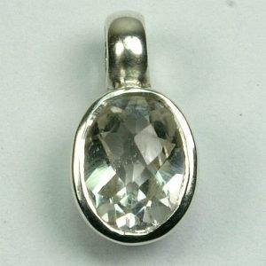 AN104 Bergkristall 6x8 mm