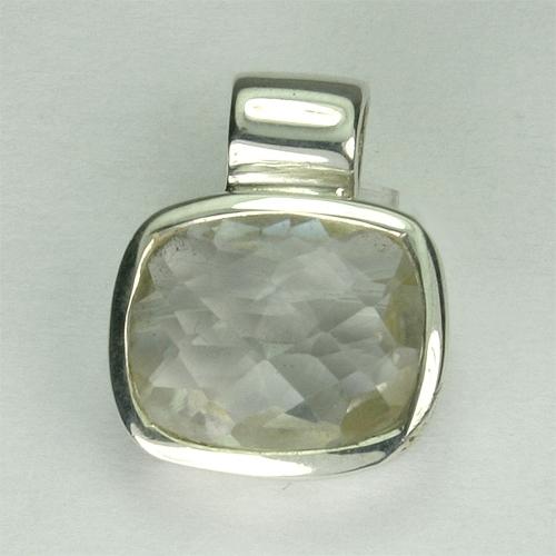 AN83 Bergkristall 9x11 mm