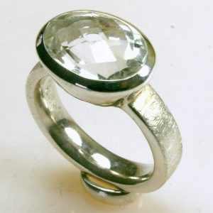 RA278 Bergkristall 10x14 mm