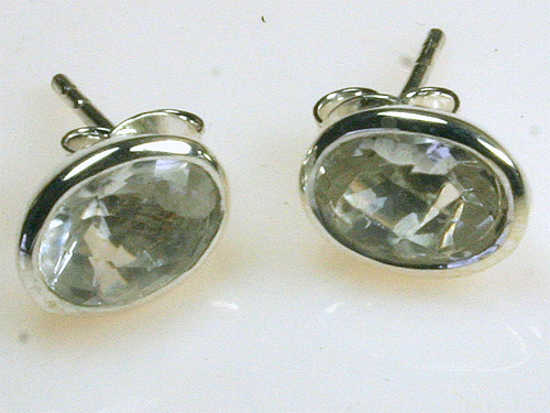 SM198 Bergkristall 6x8 mm