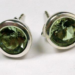SM171 grüner Amethyst 7 mm