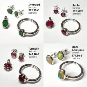 Rubin Smaragd Opal